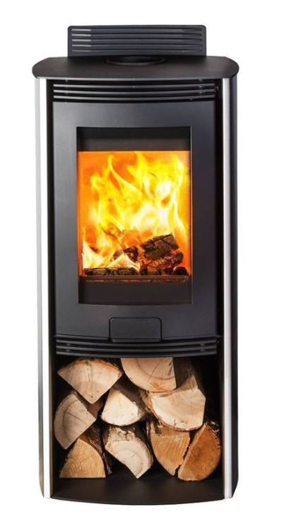 4.9kw Di Lusso Eco R4 Euro Woodburning Stove
