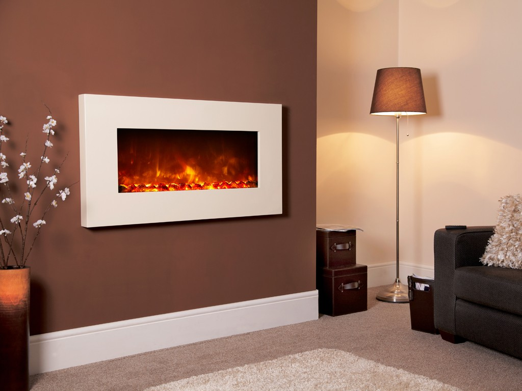 1.8KW Electriflame XD 1100 Ivory Electric Fire