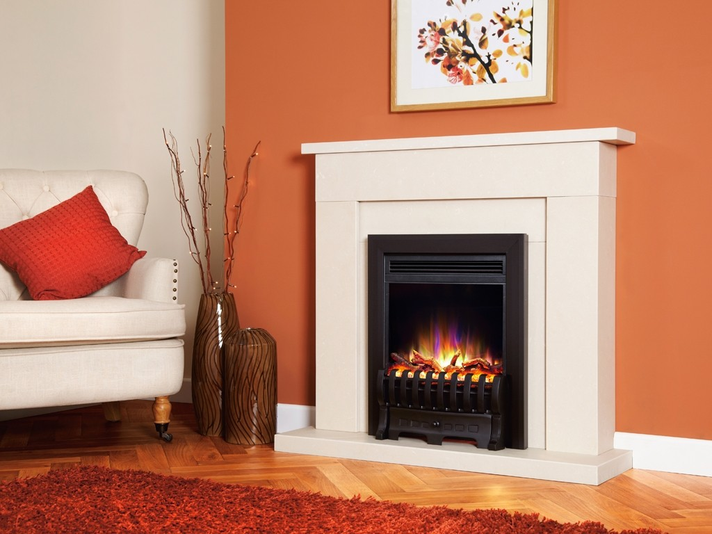 1.5KW Electriflame XD Royale Black Electric Fire