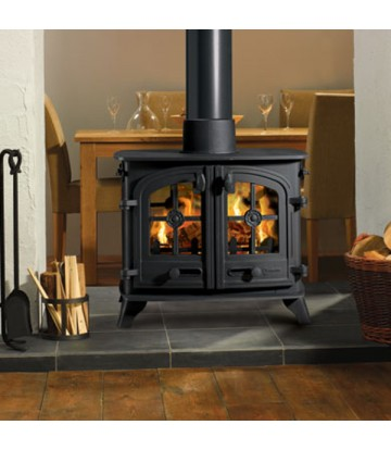 15KW County Double Sided Single Depth Multi Fuel Stove