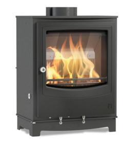 4.9KW Farringdon Small Eco Multi Fuel and Wood burning Stove