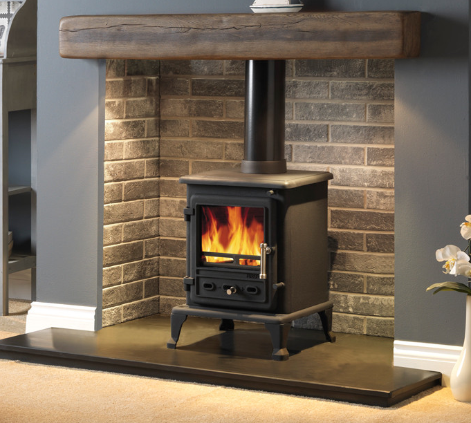 4.9KW Firefox 5 Clean Burn Multi Fuel Stove