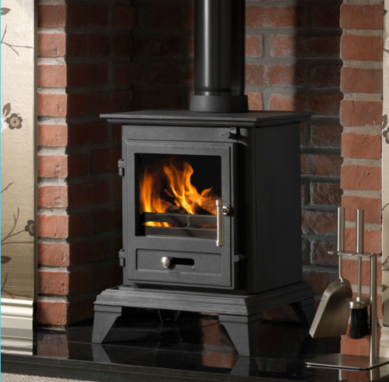 4.9KW Firefox 5 Clean Burn Classic Multi Fuel Stove