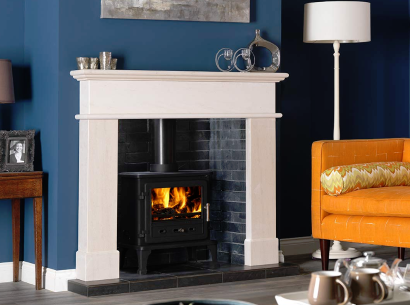 8.4KW Firefox 8 Clean Burn SE Multi Fuel Stove