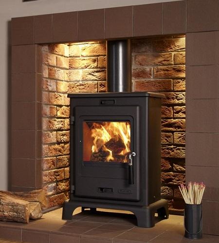 4.9KW Flavel Dalton SE Multi Fuel and Woodburning Stove