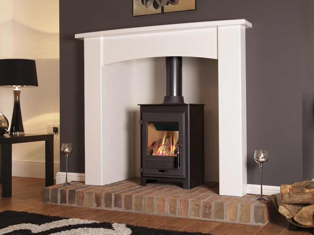 3.4KW Flavel No 1 Balanced Flue Gas Stove