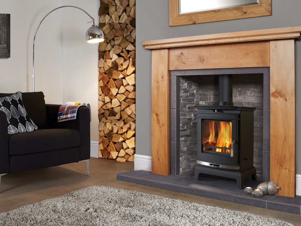5KW Flavel Rochester Multifuel Stove