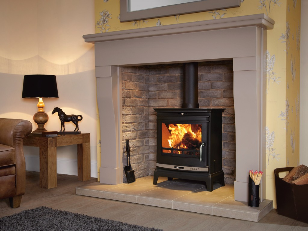 7KW Flavel Rochester SE Multi Fuel and Woodburning Stove