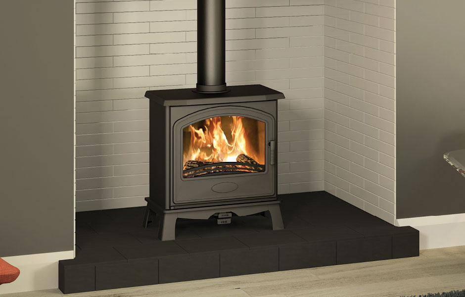 5KW Hereford 5 SE Widescreen Multi Fuel Stove