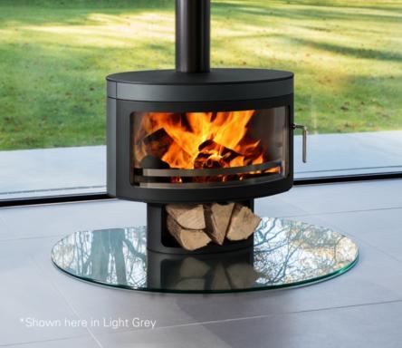 8kW Panoramic FX1 Wood Burning Stove