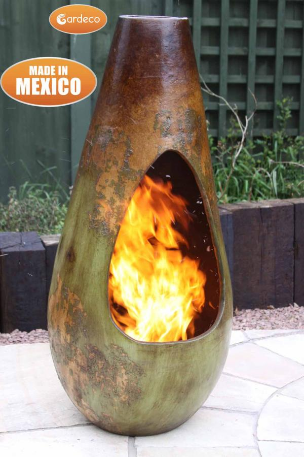 Chim-art Gota Large Mexican Chimenea
