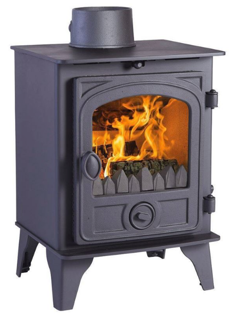4.7KW Hawk 4D Woodburning Stove