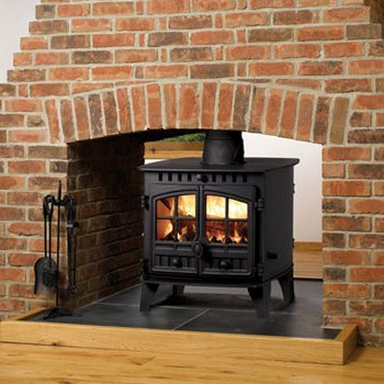 6.5 - 10.5KW Herald 6 Double Sided Woodburning Stove