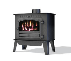4.8KW Herald 6 Inglenook Conventional Gas Stove
