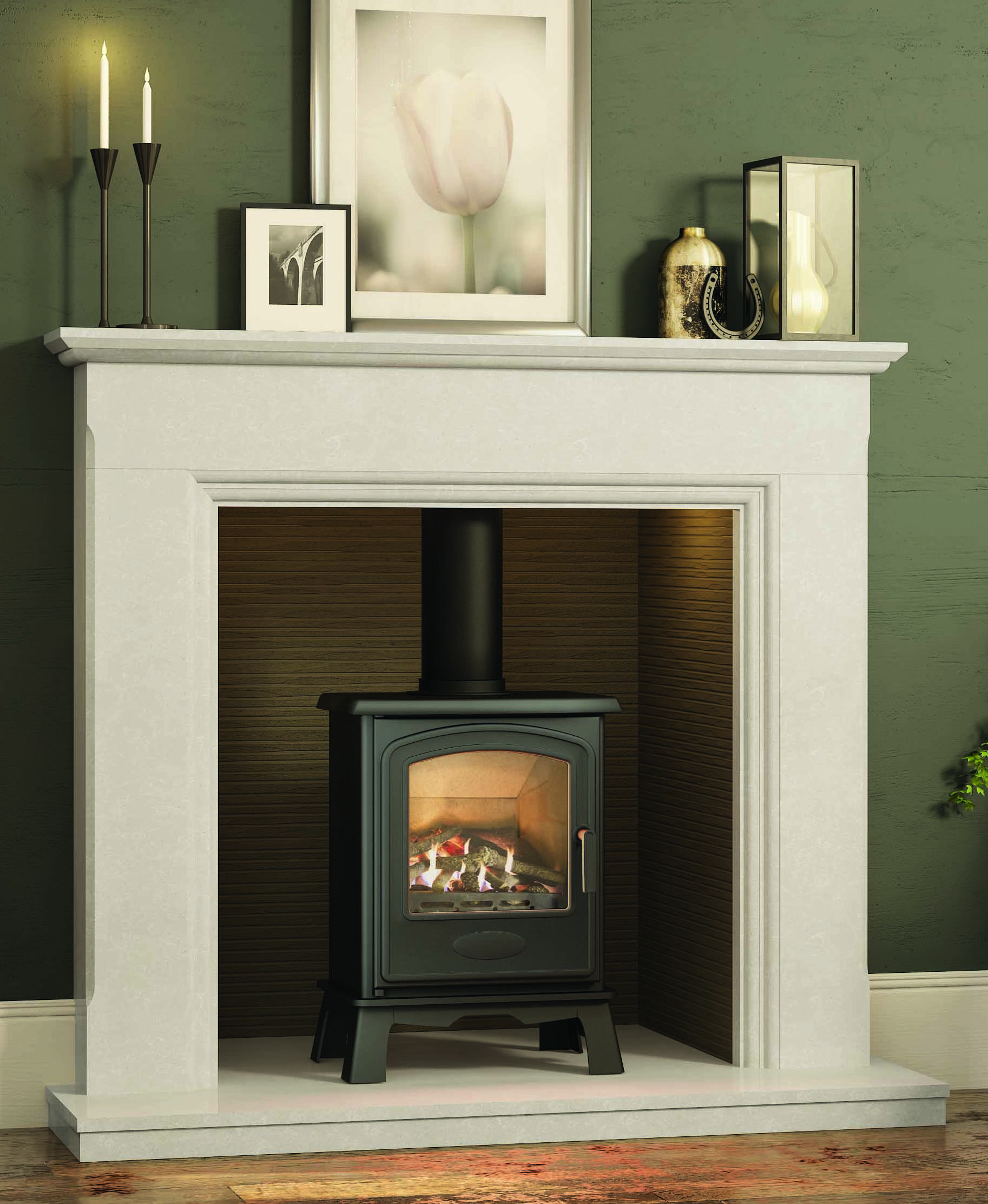 4.6KW Hereford 5 Conventional Gas Stove