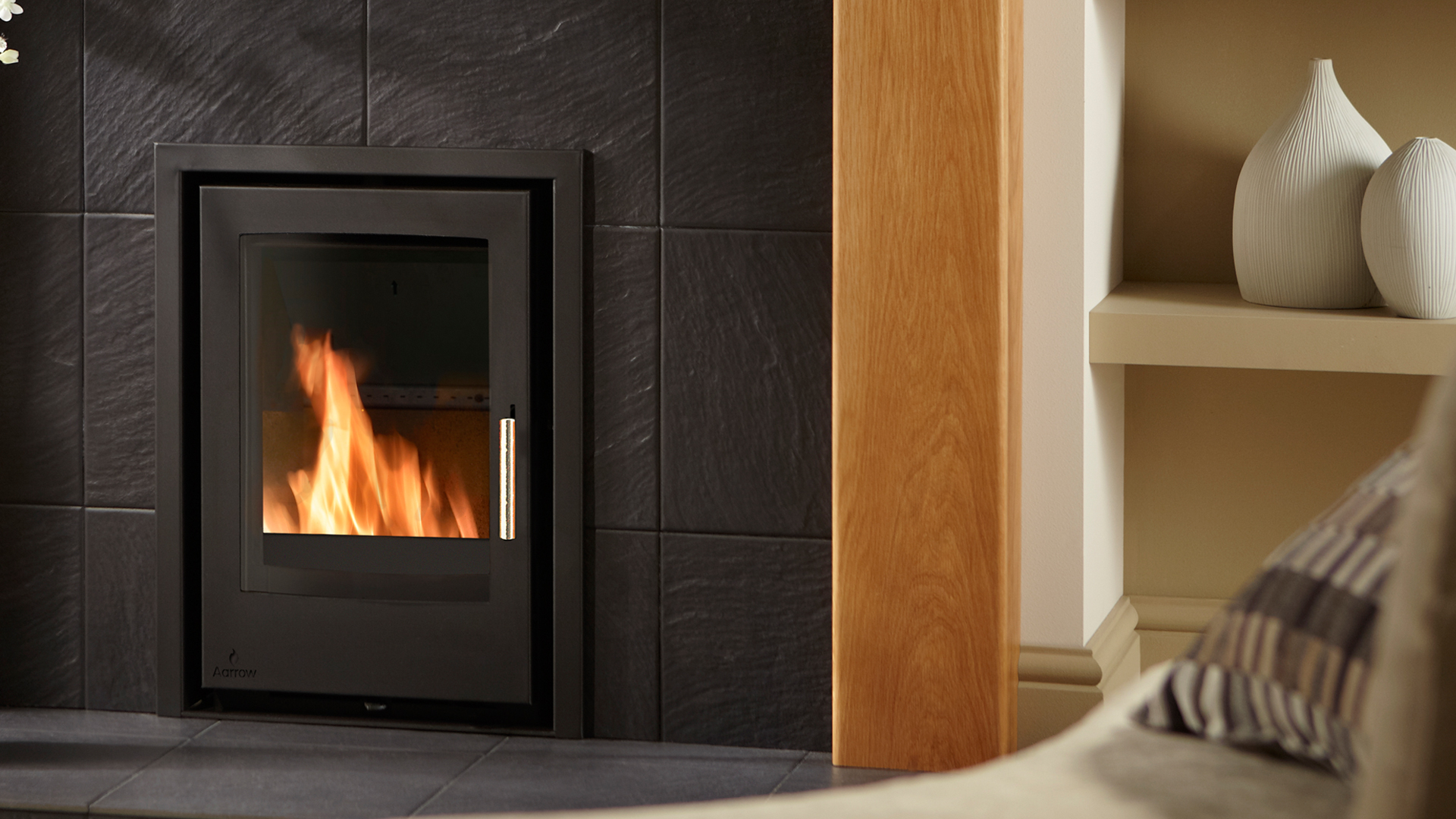 4.9KW i400 Inset Convector Multi Fuel Stove - EX DISPLAY