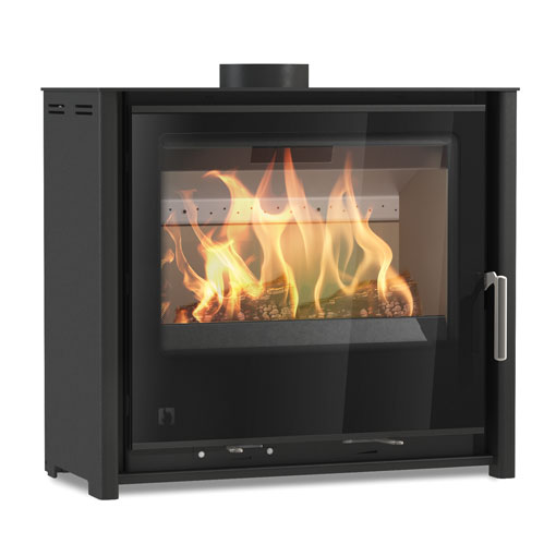4.9KW i600 Slimline Freestanding Low Multi Fuel and Wood Burning Stove