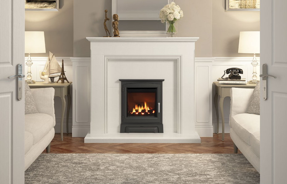 2kw-3.4kw Indigo Mid Depth Inset Gas Fire