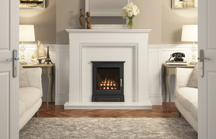 2.2kw - 3.3kw Invictor Balanced Flue Inset Gas Fire
