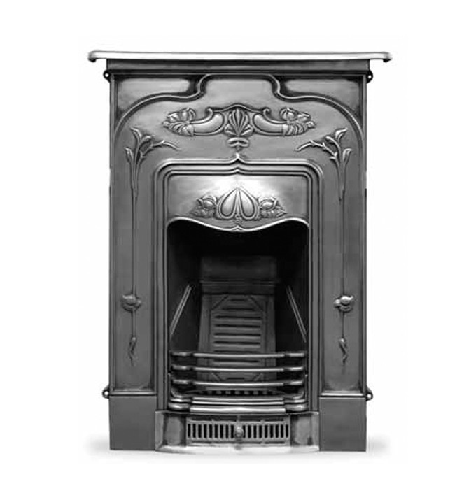 The Jasmine Cast Iron Combination Fireplace
