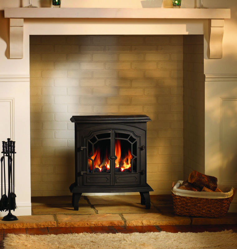 4.6KW Lincoln Conventional Flue Gas Stove