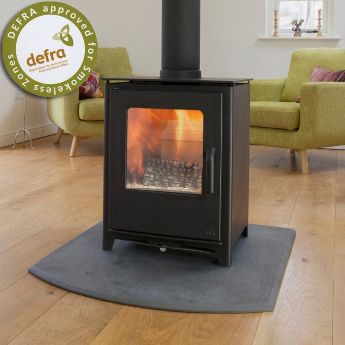 8KW Loxton 8 Double Sided Multi Fuel Stove
