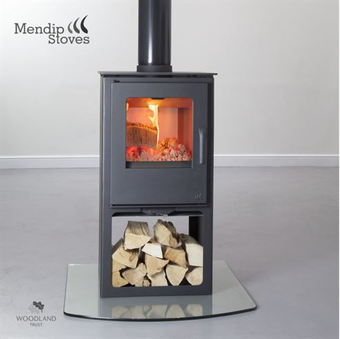 8KW Loxton 8 Double Sided Logstore Multi Fuel Stove
