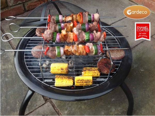 Lucio Folding Portable BBQ Fire Bowl - SPECIAL OFFER