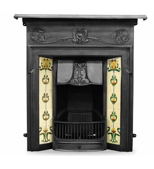 The Morris Cast Iron Combination Fireplace
