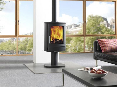 5KW Neo 1P Multi Fuel Stove with Pedestal