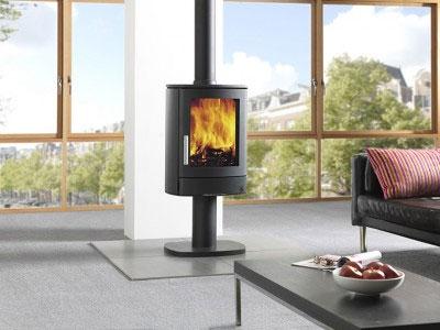 5KW Neo ECO 1P Woodburning Stove with Pedestal