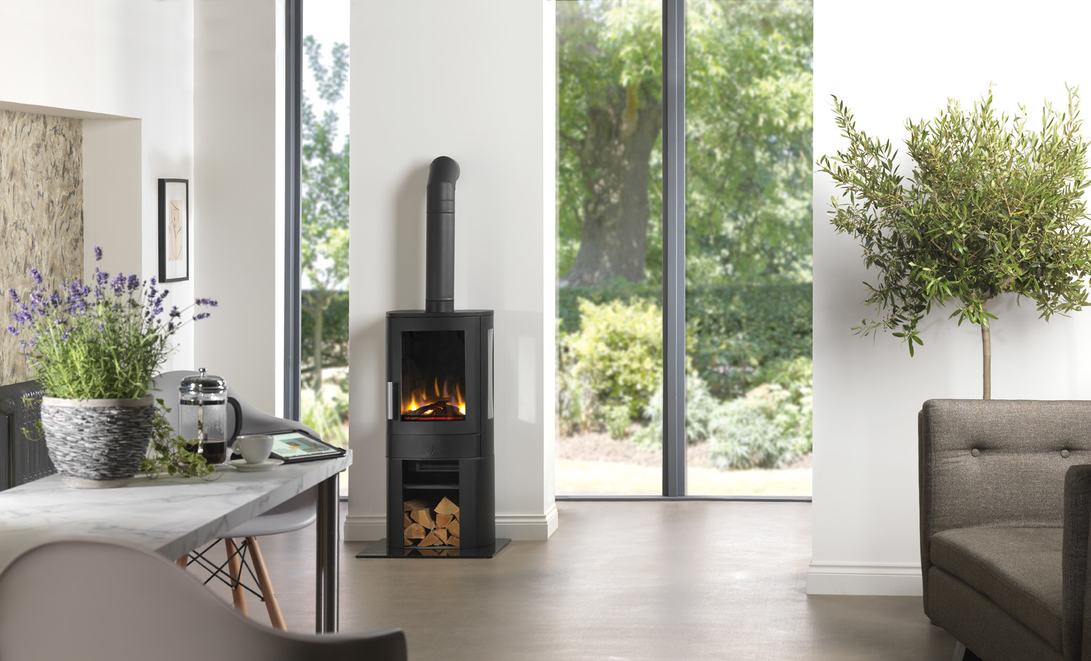 2KW Neo 3C with Cupboard Base Electric Stove