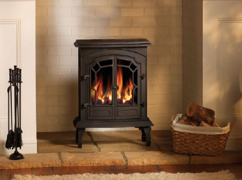 3.9KW Lincoln Conventional Flue Gas Stove