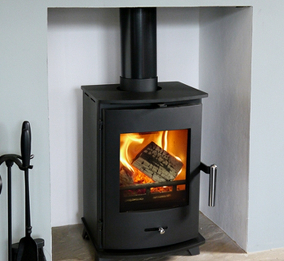 4.5KW Newbourne 35FS Wood Burning Stove