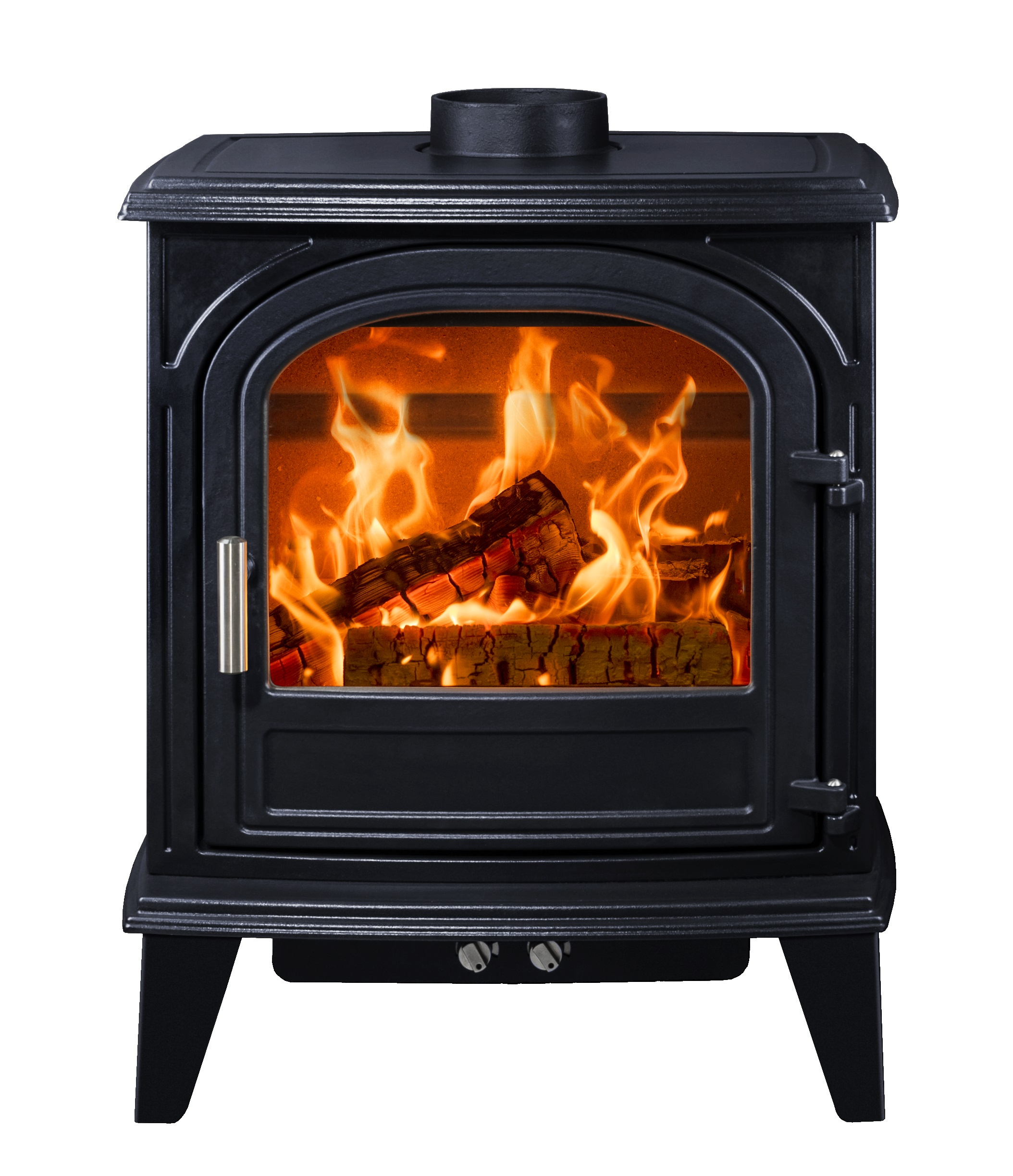 4.9kW Nordstrand 5 Satin Blue SE Woodburning Stove