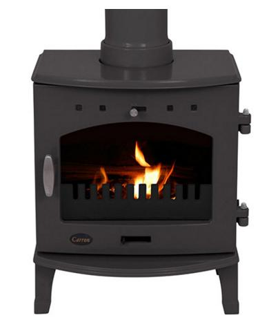 4.7KW Carron Pebble Enamel Multi Fuel Stove