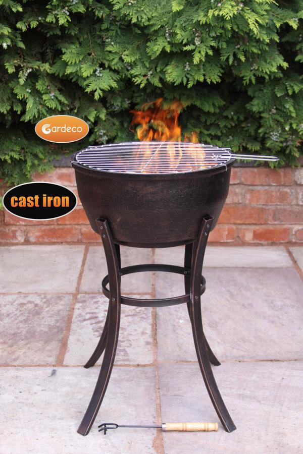 Elidir Long Big Outdoor Firepit