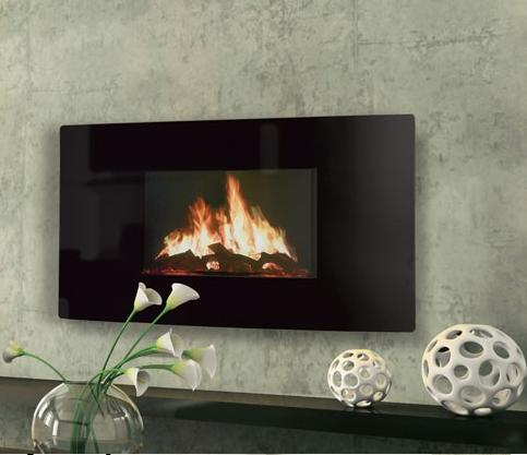 2KW Puraflame Curved Electric Fire