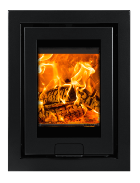 4.9kw Di Lusso R4 Inset Woodburning Stove