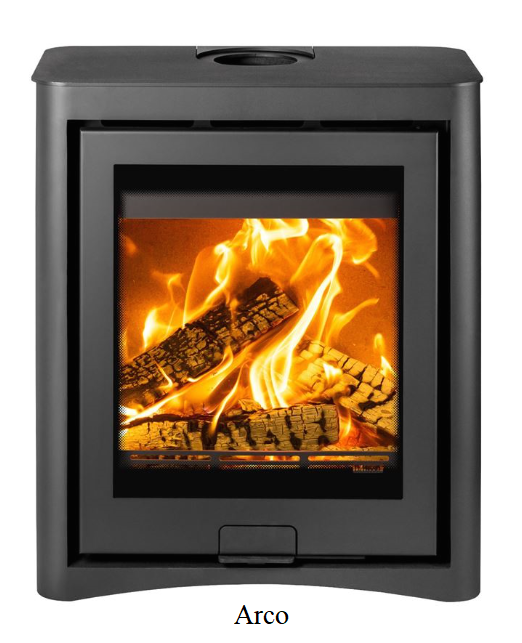 4.9kw Di Lusso R5 Cube SE Wood Burning Stove