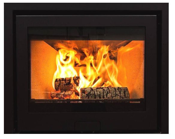 6.2kw Di Lusso R6 Slimline Inset Woodburning Stove