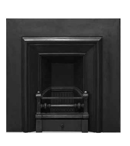 Royal Cast Iron Fireplace Insert - Narrow
