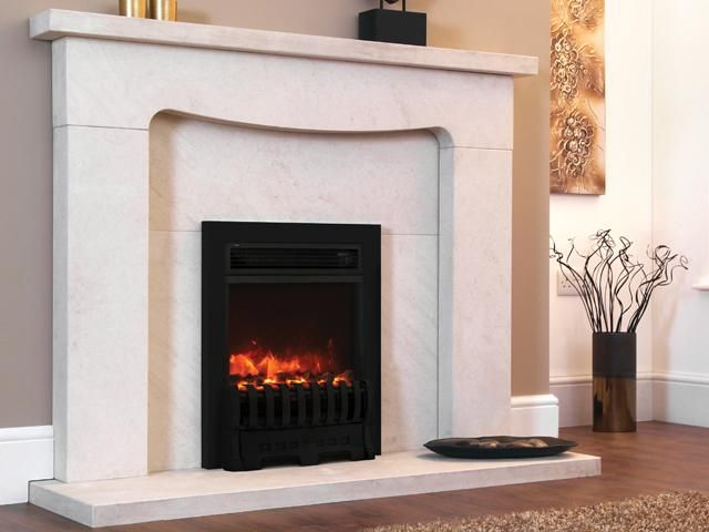 1.8KW Electriflame Insert Royale 16 Inch Black Electric Fire