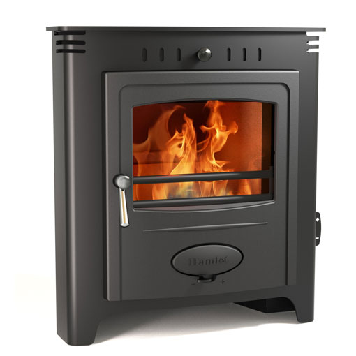 4.8KW Solution 5 Inset Multi Fuel Stove