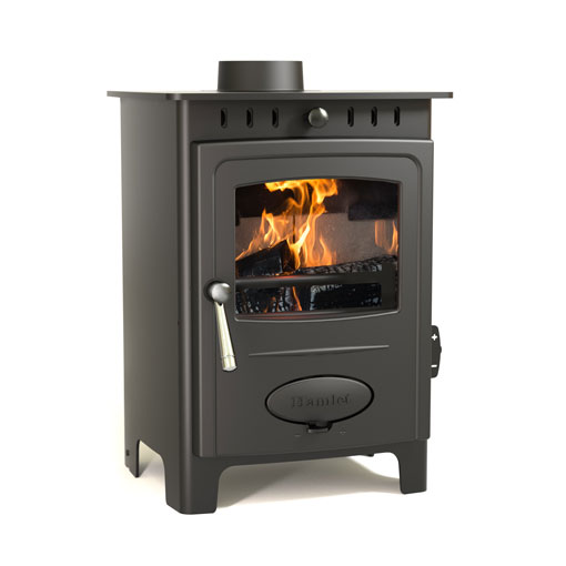 4.9KW Solution 5 Multi Fuel Stove