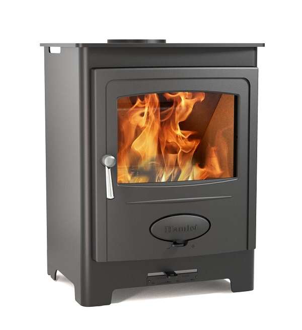 4.5kW Solution 5 Smoke Control Multi Fuel Stove