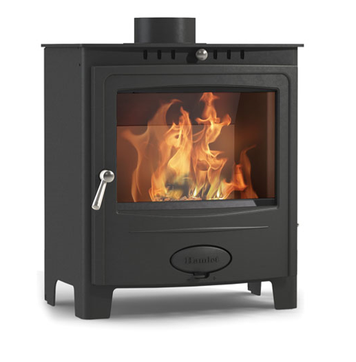 4.9KW Solution 5 Widescreen DEFRA Multi Fuel Stove