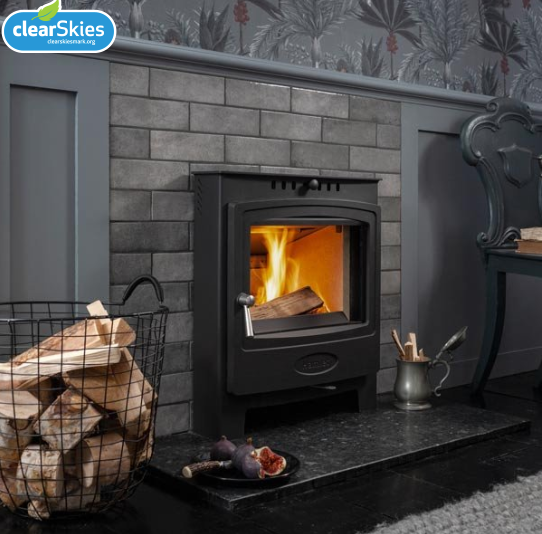 7.1KW Solution 7 Inset Multi Fuel Stove - S4