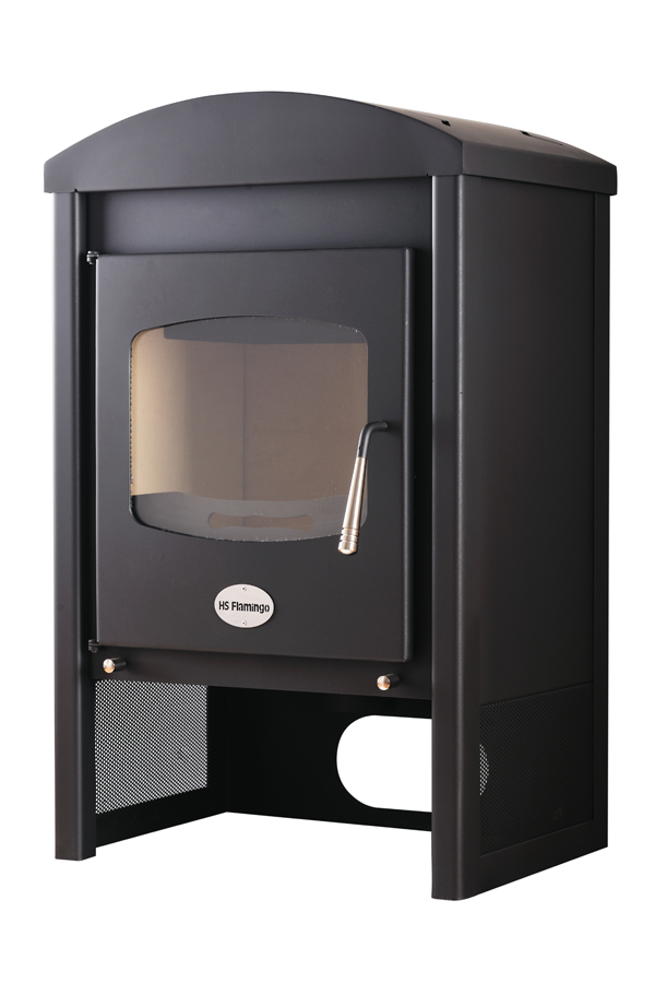 9KW Stavanger Black Woodburning Stove
