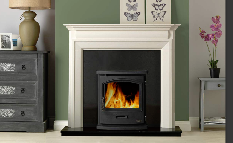 4.9kw Tiger Inset Cleanburn SE Multi Fuel Stove